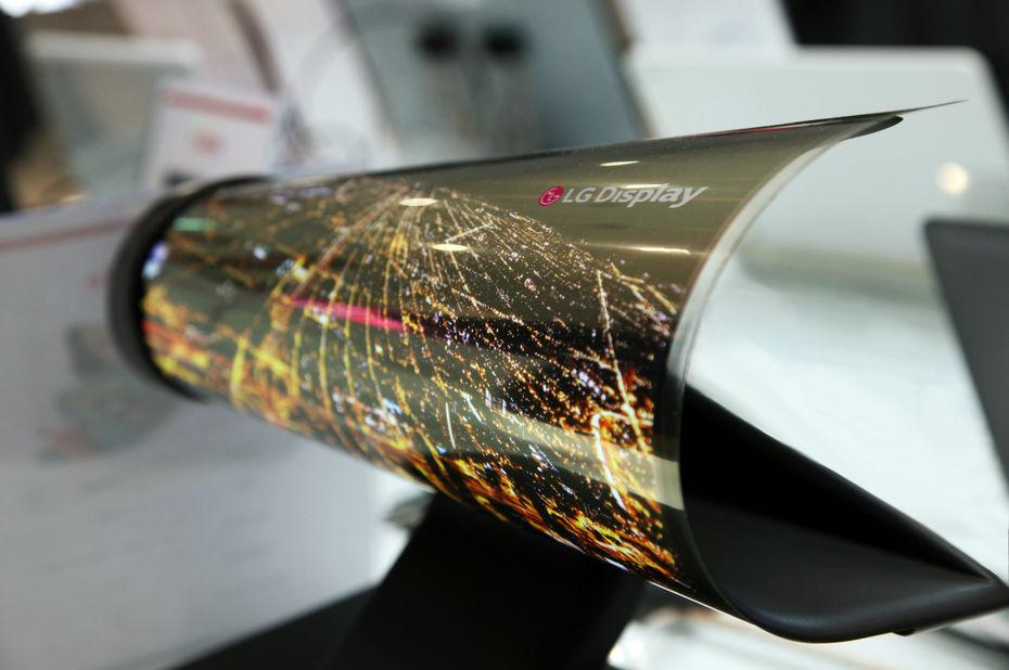 ecran OLED souple LG