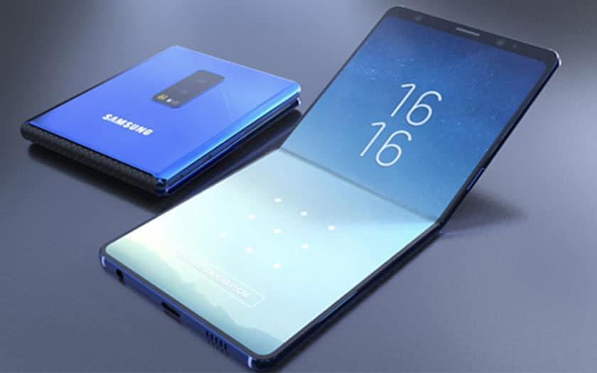 Galaxy Fold : Tout ce qu'il faut savoir sur le smartphone pliable Samsung