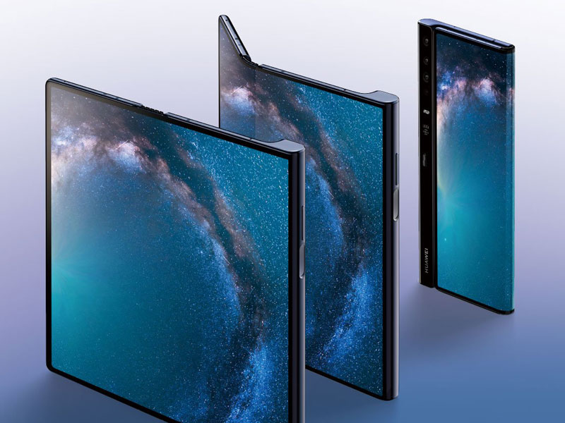 le Huawei Mate X est le premier smartphone pliable chinois