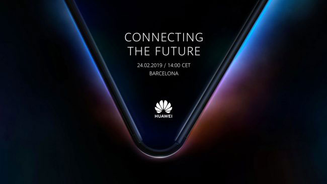 Connecting the Future titre la pub du smartphone pliable Huawei